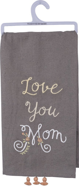 Mom Tassel Towel
