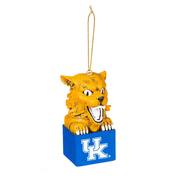 Kentucky Wildcat Box Ornament