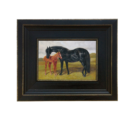 Mare and Foal Framed Print