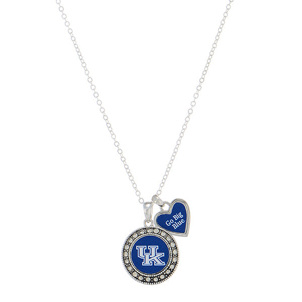 UK Go Big Blue Necklace