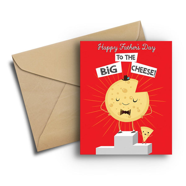 Big Cheese Father's Day Card