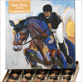 Small Equine Box Bourbon Balls