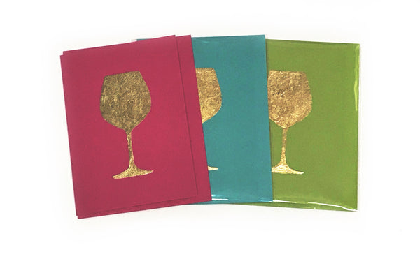 Gold Foil Greeting Card