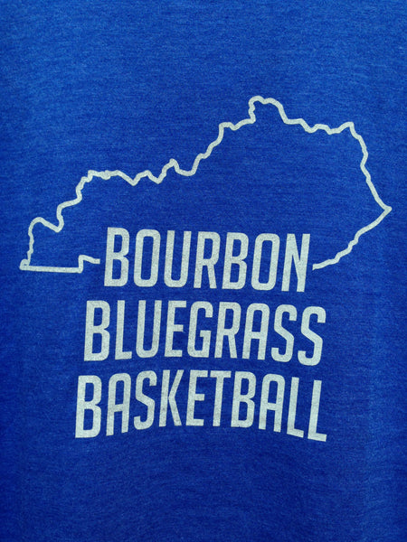 Bourbon Bluegrass Basketball Tee