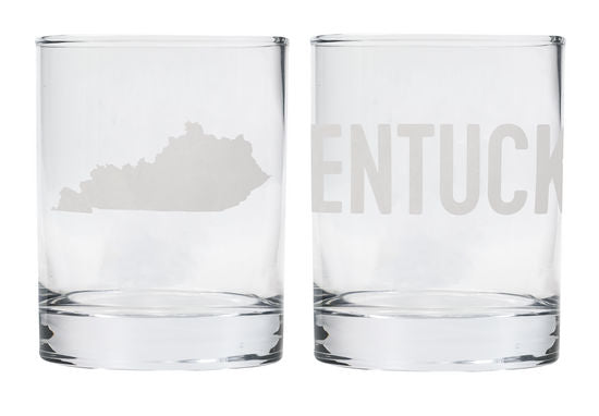 Kentucky Rocks Glass Set