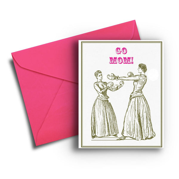 Boxing Mom Card
