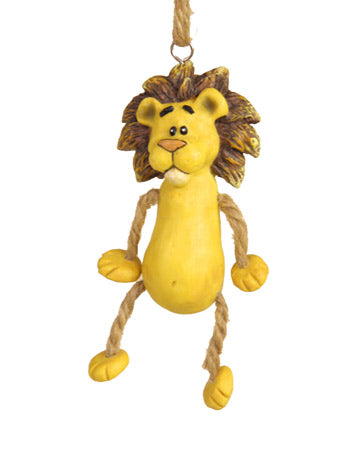 Dangly Lion Ornament