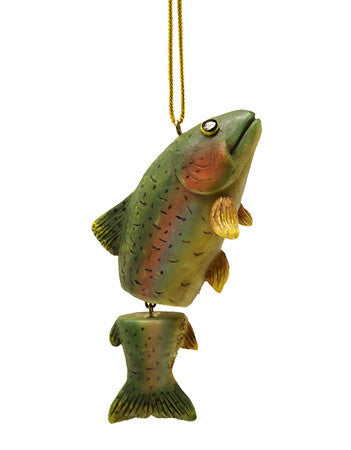 Dangly Trout Ornament