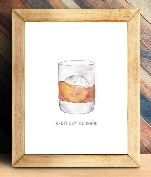 Kentucky Bourbon Print