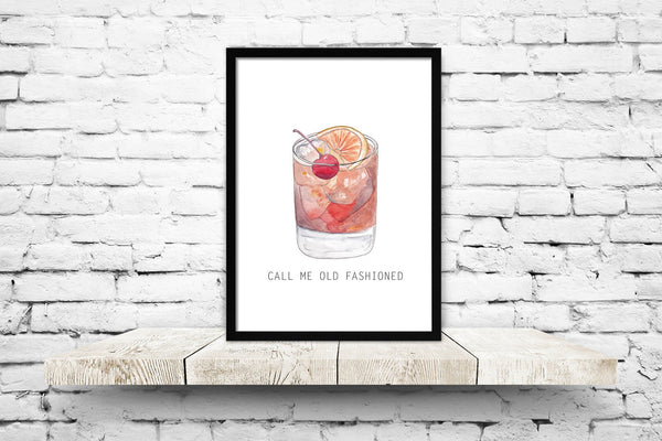Call Me Old Fashioned Print