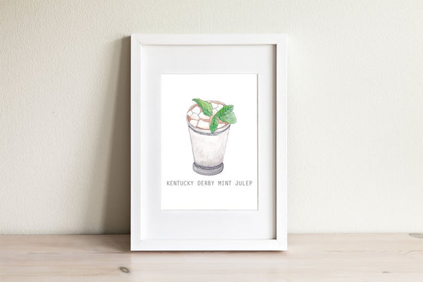 Kentucky Mint Julep Print