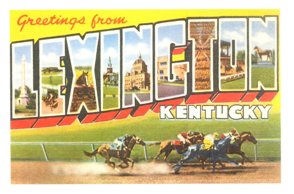Greetings from Lexington, Kentucky Postcard