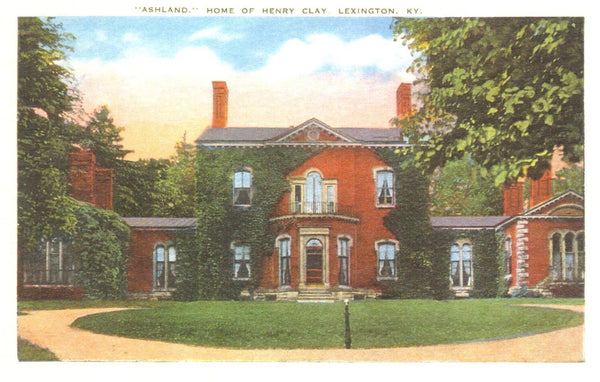 """Ashland"" Home of Henry Clay Postcard"