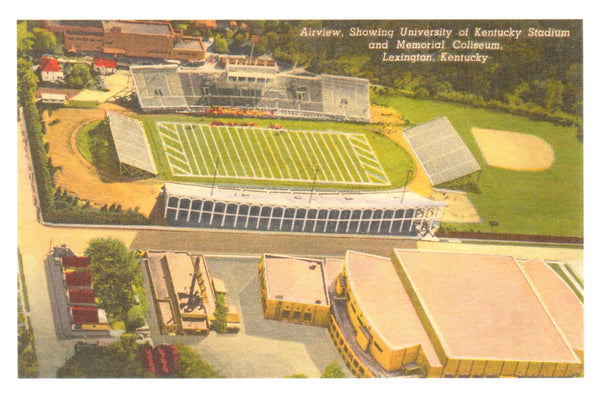 University Stadium, Lexington Postcard