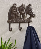 Three Horses Wall Hooks