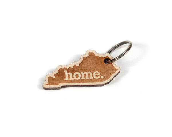 Wooden KY Keychain