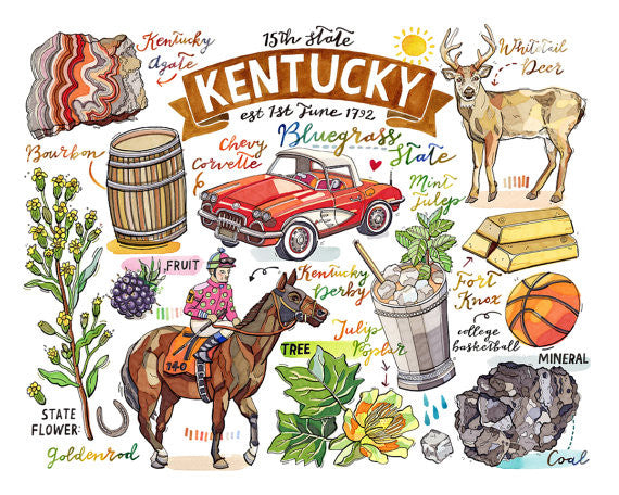 Kentucky State Pride Prints--2 Sizes