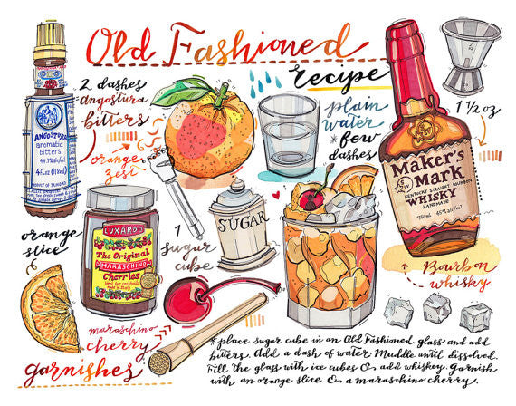Old Fashioned Recipe Print