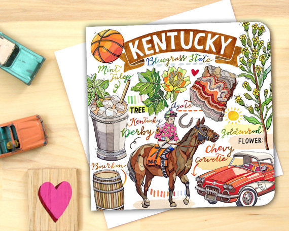 Kentucky State Pride Notecard