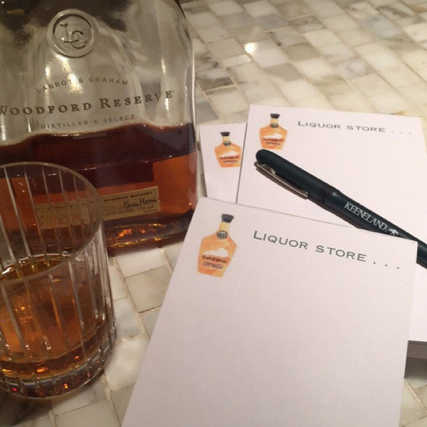 Bourbon Notepad