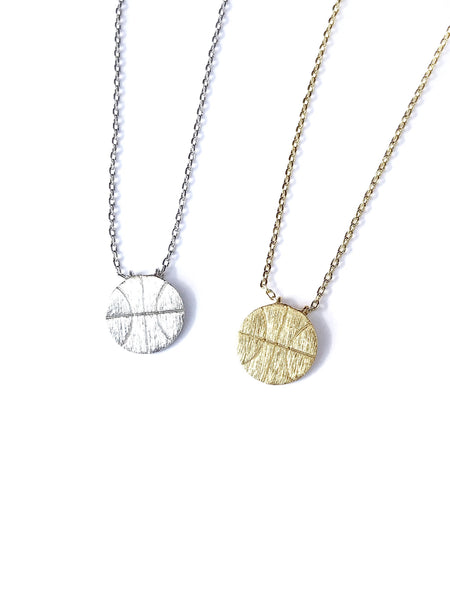Basketball Necklace--2 Colors