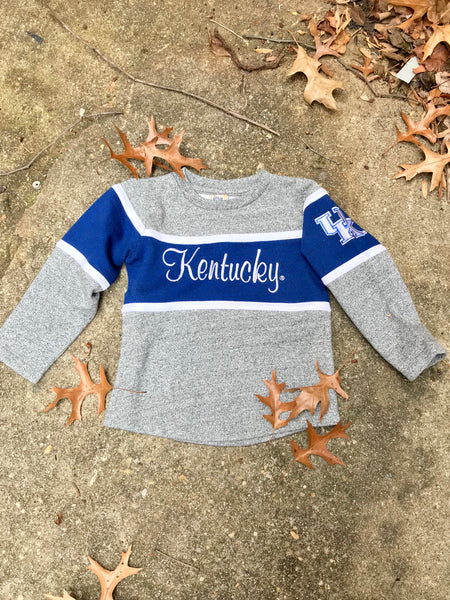 Kids KY Wildcats French Terry Sweater