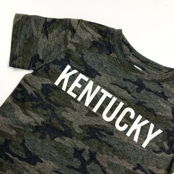 Camo Down Home Tee - Youth
