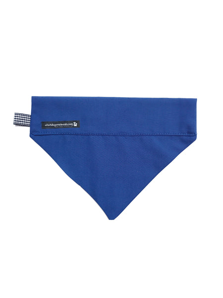 Royal Blue Dog Bandana