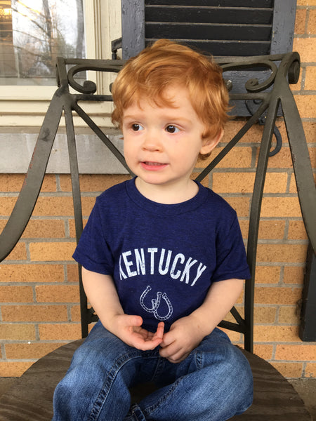 Navy Thoroughbred Tee - Toddler