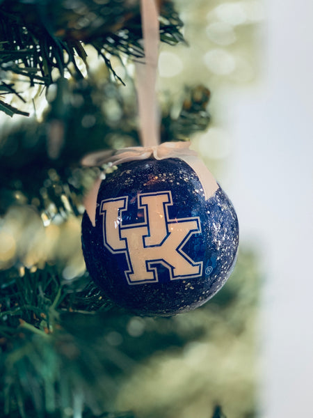 UK Glitter Ornament