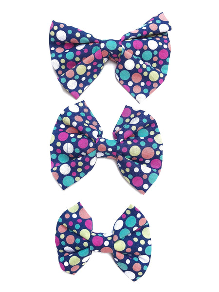 Lots O' Dots Dog Bow/Bowtie