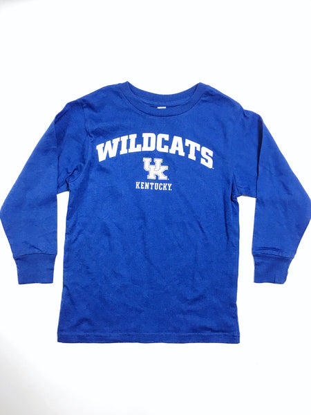 Kids Kentucky Wildcats Long Sleeve Tee