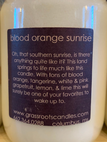 Blood Orange Sunrise Candle
