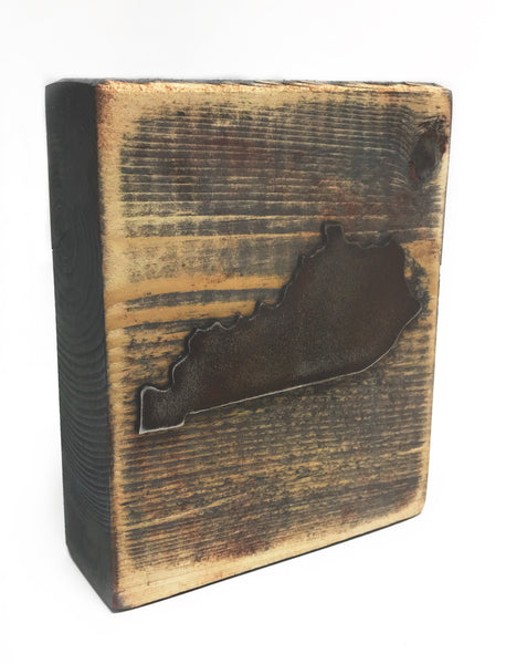 KY State Wood Block