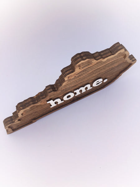 Kentucky Home Wood Plaque