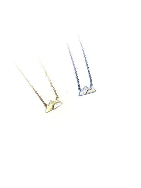 Mountains Necklace--2 Colors
