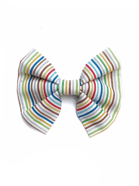 Rainbow Dog Bow/Bowtie
