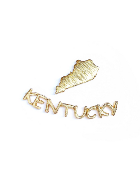 Kentucky Girl Ear Crawler Studs--3 Colors