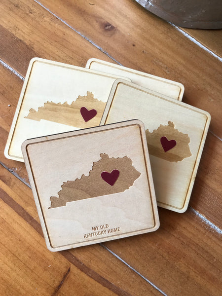 My Old Kentucky Home Coasters