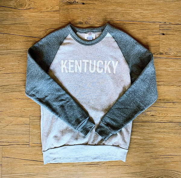 Down Home Crewneck - Grey Combo