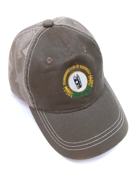 Khaki Commonwealth of KY Hat