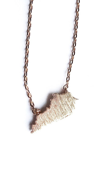 Dainty Commonwealth Necklace--2 Colors