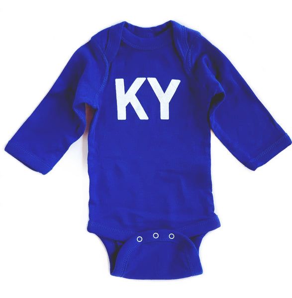 K Y Onesie Long Sleeve