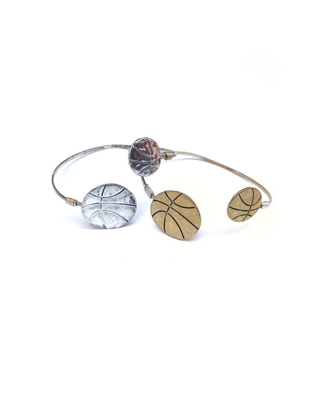 Basketball Bangle--2 Colors