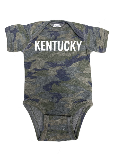 Down Home Camo Onesie