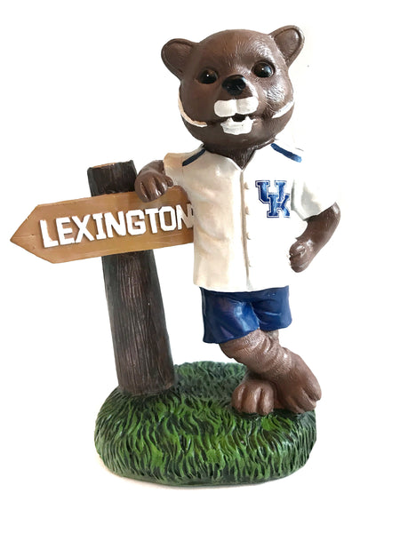 UK Mascot Yard Figurine