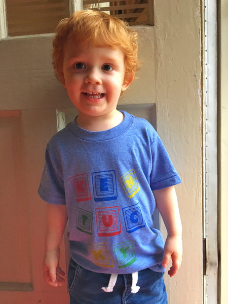 Blocktucky Tee - Toddler
