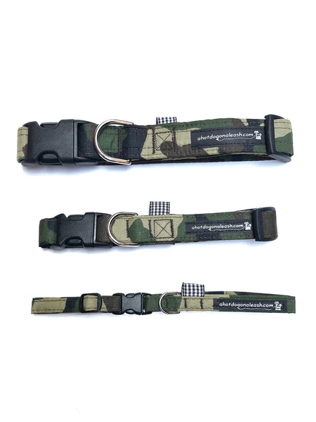 Camo Dog Collar--3 Sizes