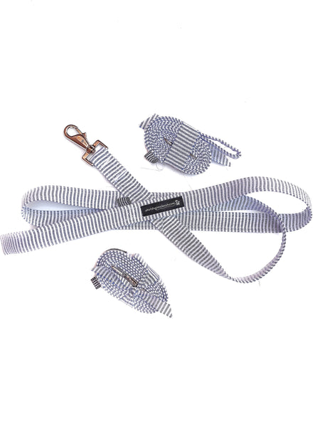 Seersucker Dog Leash