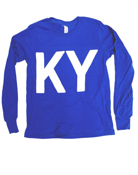 K Y Long Sleeve Tee - Youth
